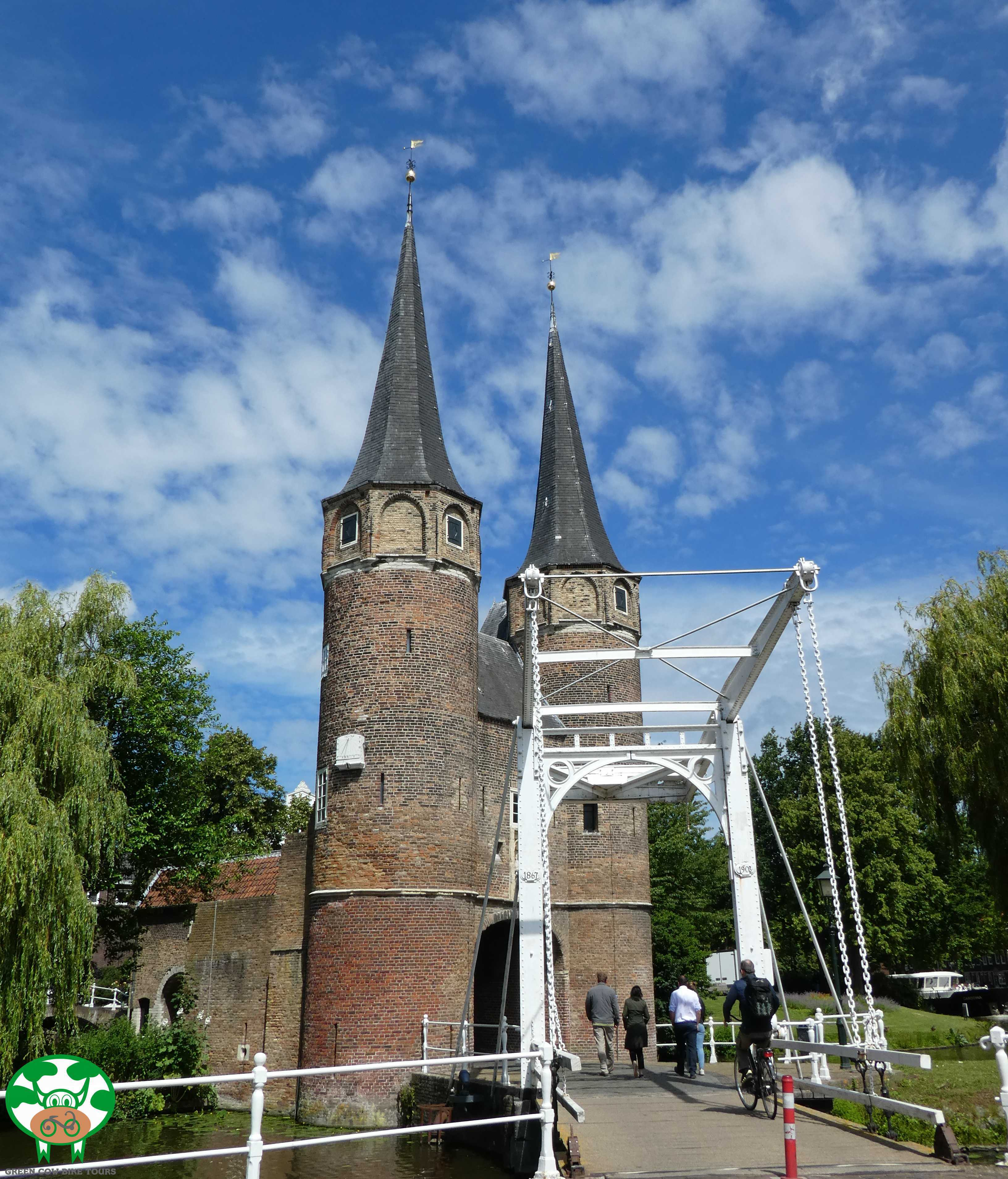 Delft old town