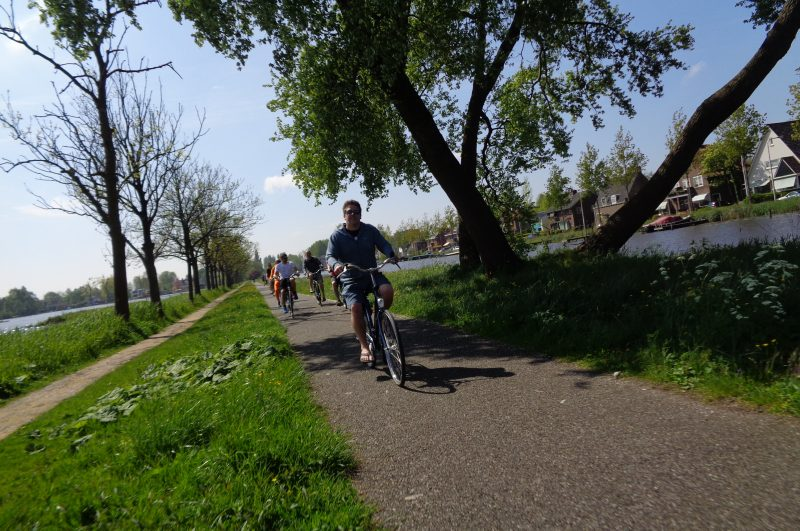 Cycle to Gouda Lake Tour - Green Cow Bike Tours